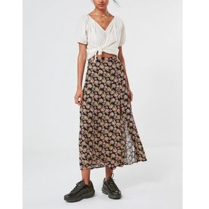 Urban Outfitters floral maxi skirt